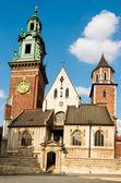 Wawel katedrála, krakov, polsko — Stock fotografie