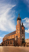 St. Mary's church in Krakow, Poland — Stock Photo