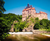 Kriebstein castle, Saxony, Germany — Stock Photo
