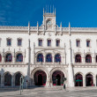 rossio railway station in lisbon — Stock Photo