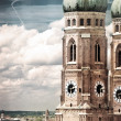 Frauenkirche in Munich, German — Stock Photo