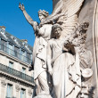 sculpture on the facade of paris opera house — Stock Photo