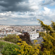 Stock Photo: View over Paris from Monmartre