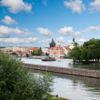 Vltava river in Prague — Stock Photo
