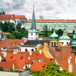 Roofs of Old Prague — Stockfoto