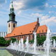 Stock Photo: St. Mary's Church in Berlin