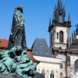 St Mary's Church Praha — Stock Photo