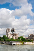 Ile de la Cite in Paris — Stock Photo