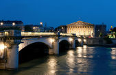 Pont de la Concorde in Paris — Stock Photo