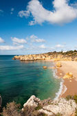 Seashore near Albufeira, Portugal — Stock Photo