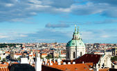 Bird view of Old Prague — Stock Photo