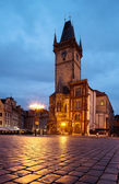 Town Hall in Prague — Stock Photo