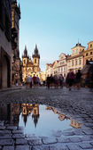 St Mary Church in Prague — Stock Photo