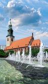 St. Mary's Church in Berlin — Stock Photo