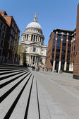 St. Paul's Cathedral in London — Foto de Stock