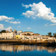 Roman bridge in Tavira — Stock Photo