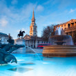 Trafalgar Square in London — Stock Photo #33391099