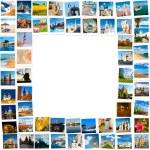 telaio in foto di viaggio — Foto Stock