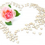 Valentine postcard — Stock Photo
