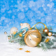 Christmas decorations — Stock Photo #33396745