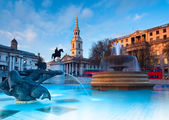 Trafalgar Square in London — Stock Photo