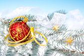 Xmas decorations — Stock Photo
