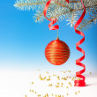 Christmas decorations, space — Stock Photo