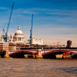 London under construction — Stock Photo