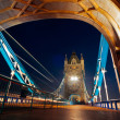 London Bridge at night — Stock Photo