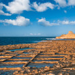 Salinas on Goso island, Malta — Stock Photo
