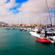 Marina in Northern Fuertventura — Stock Photo
