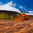 Dirt roller — Stock Photo #33481295