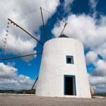 Portugal, histoprical windmill — Stock Photo #33481331