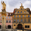 Stock Photo: Haus zum Roten Ochsen, Fish Market Square in Erfurt