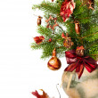 Xmas arrangement — Stock Photo