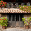 Traditional entrance, Betancuria, Fuerteventura — Stock Photo