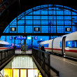Leipzig train station — Stock Photo