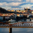 Prague bridges — Stock Photo #33481905