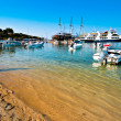 Fishermen bay Ormos Panagias in Sithonia, Greece — Stock Photo