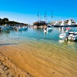 Stock Photo: Fishermen bay Ormos Panagias in Sithonia, Greece