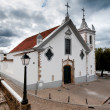 Village church in Portugal near Faro — Stock Photo