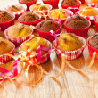 Muffins on a table — Stock Photo #33481945
