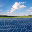 Solar farm — Stock Photo