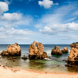 Secluded beach near Albufeira, Portugal — Stock Photo