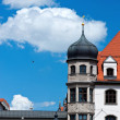 Munich old buildings — Stock Photo