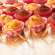 Muffins on a table — Stock Photo #33482473