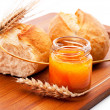 Bread and honey — Stock Photo #33482505
