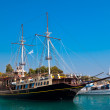 Touristic sailing boat, Sithonia, Greece — Foto de Stock