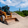 wheel loader — Stock Photo