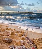 Unquiet Baltic Sea — Stock Photo